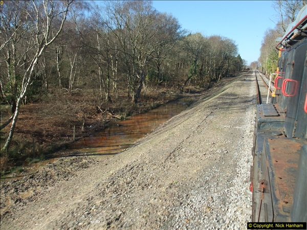 2016-02-15 SR Engineering work on the new section for the Wareham link.  (77)153