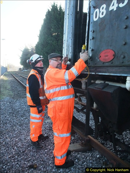 2016-02-15 SR Engineering work on the new section for the Wareham link.  (8)084