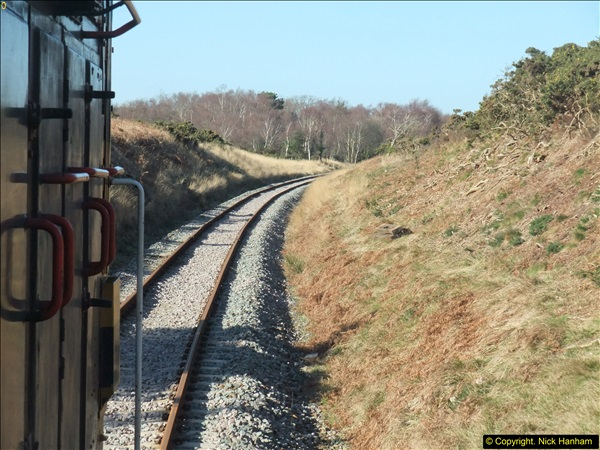 2016-02-15 SR Engineering work on the new section for the Wareham link.  (82)158