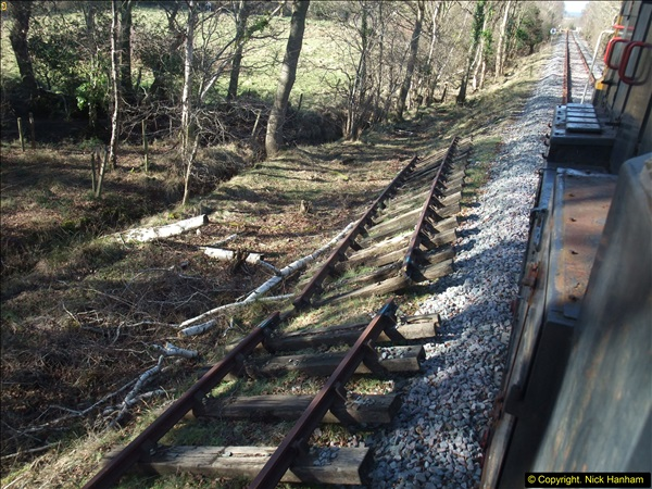 2016-02-15 SR Engineering work on the new section for the Wareham link.  (84)160