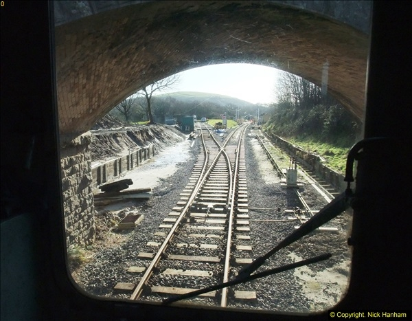 2016-02-15 SR Engineering work on the new section for the Wareham link.  (11)087