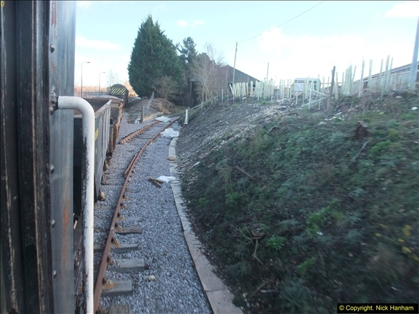 2016-02-15 SR Engineering work on the new section for the Wareham link.  (121)197