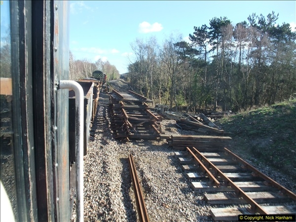 2016-02-15 SR Engineering work on the new section for the Wareham link.  (123)199