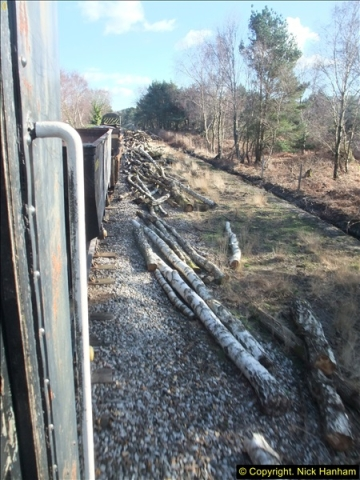 2016-02-15 SR Engineering work on the new section for the Wareham link.  (124)200
