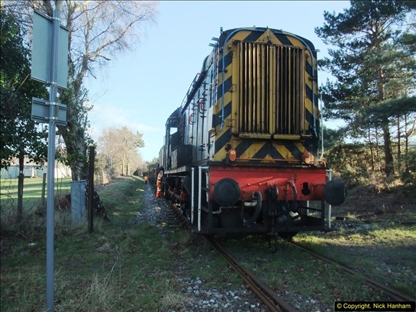 2016-02-15 SR Engineering work on the new section for the Wareham link.  (133)209