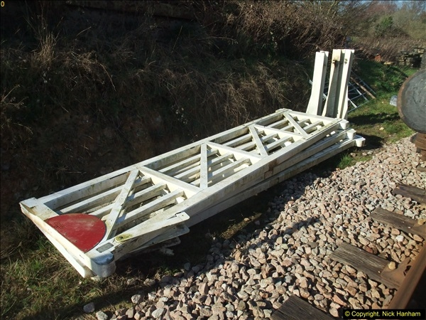 2016-02-15 SR Engineering work on the new section for the Wareham link.  (19)095