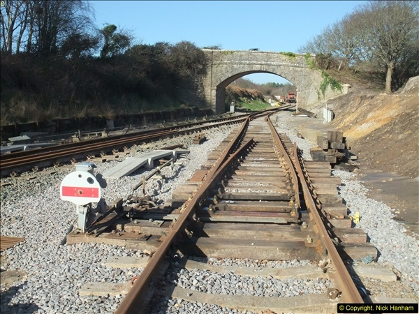 2016-02-15 SR Engineering work on the new section for the Wareham link.  (26)102