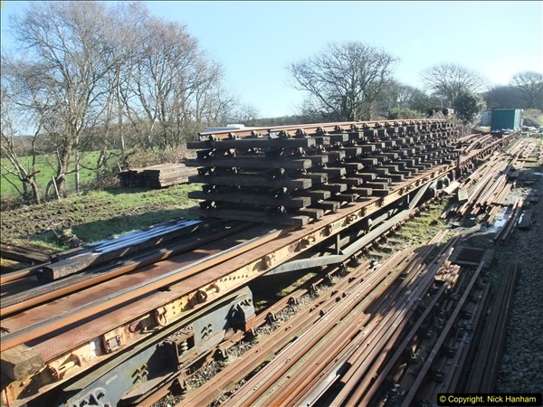 2016-02-15 SR Engineering work on the new section for the Wareham link.  (32)108