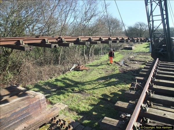 2016-02-15 SR Engineering work on the new section for the Wareham link.  (42)118