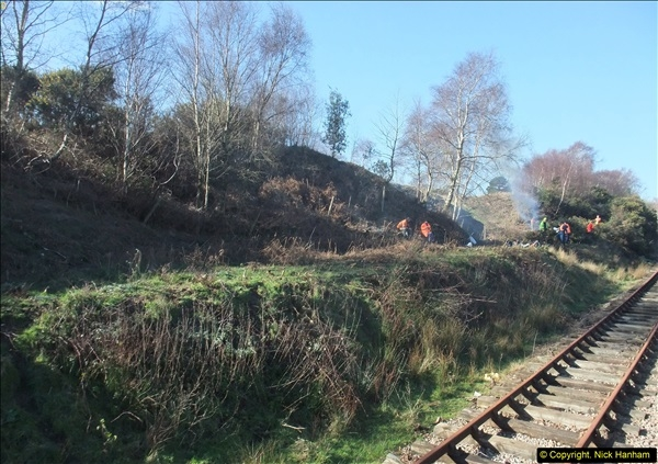 2016-02-15 SR Engineering work on the new section for the Wareham link.  (62)138