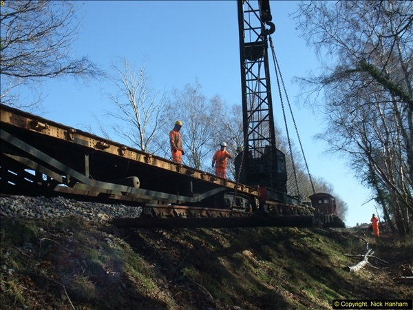 2016-02-15 SR Engineering work on the new section for the Wareham link.  (94)170