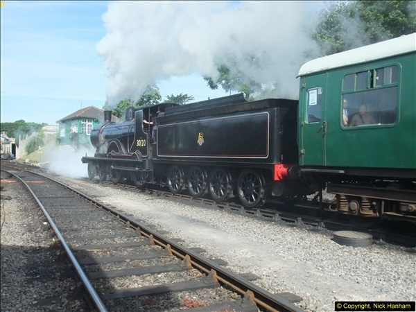2016-07-21 DMU Turn and Warner Brothers film site set up at Swanage. (10)0291