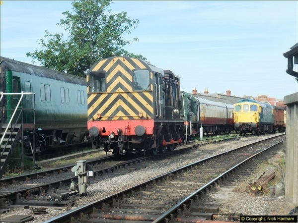 2016-07-21 DMU Turn and Warner Brothers film site set up at Swanage. (1)0282