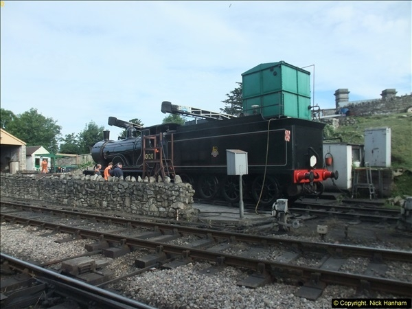 2016-07-21 DMU Turn and Warner Brothers film site set up at Swanage. (2)0283