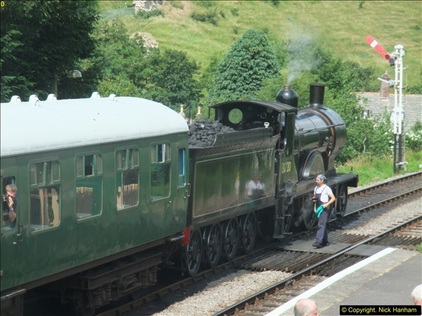 2016-07-21 DMU Turn and Warner Brothers film site set up at Swanage. (21)0302