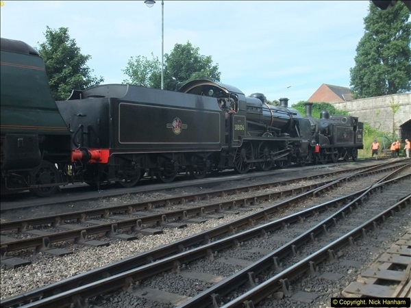 2016-07-21 DMU Turn and Warner Brothers film site set up at Swanage. (3)0284