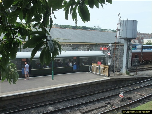 2016-07-21 DMU Turn and Warner Brothers film site set up at Swanage. (45)0326