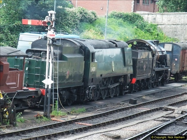 2016-07-21 DMU Turn and Warner Brothers film site set up at Swanage. (46)0327