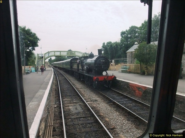 2016-07-21 DMU Turn and Warner Brothers film site set up at Swanage. (49)0330