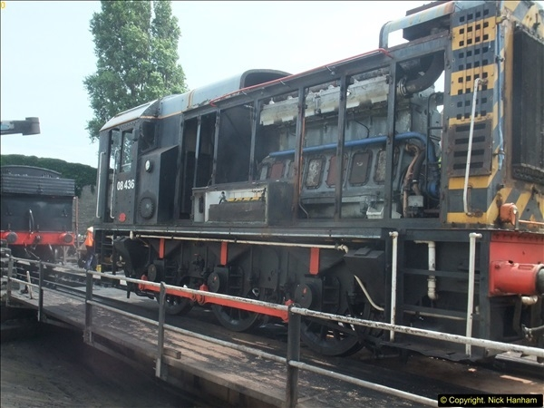 2016-07-21 DMU Turn and Warner Brothers film site set up at Swanage. (55)0336
