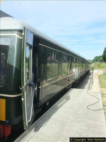 2016-07-21 DMU Turn and Warner Brothers film site set up at Swanage. (7)0288