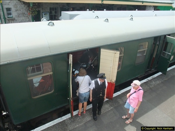 2016-07-21 DMU Turn and Warner Brothers film site set up at Swanage. (71)0352