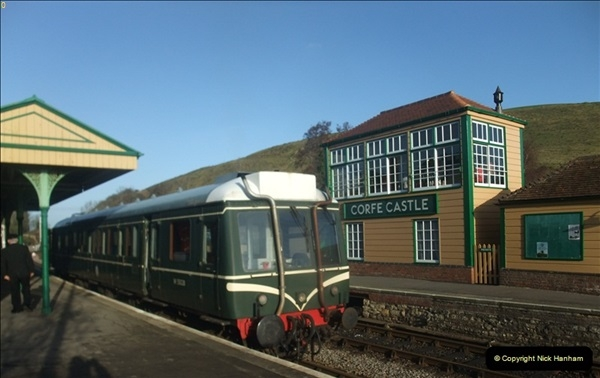 2012-01-07 Driving the DMU shuttle service Corfe Castle to Norden (10)125