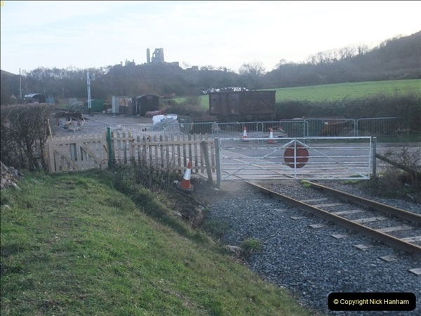 2012-01-07 Driving the DMU shuttle service Corfe Castle to Norden (118)233
