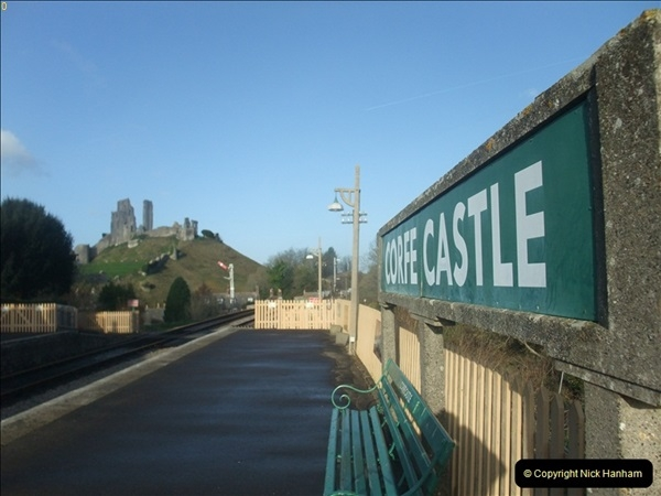 2012-01-07 Driving the DMU shuttle service Corfe Castle to Norden (12)127