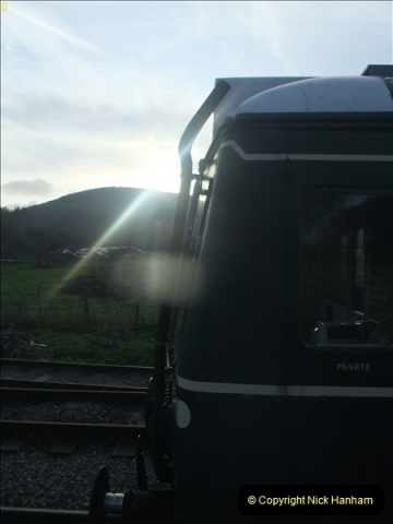2012-01-07 Driving the DMU shuttle service Corfe Castle to Norden (134)249