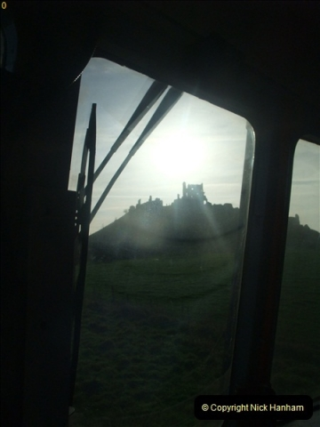 2012-01-07 Driving the DMU shuttle service Corfe Castle to Norden (54)169