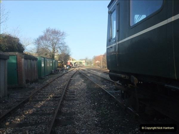 2012-01-07 Driving the DMU shuttle service Corfe Castle to Norden (6)121