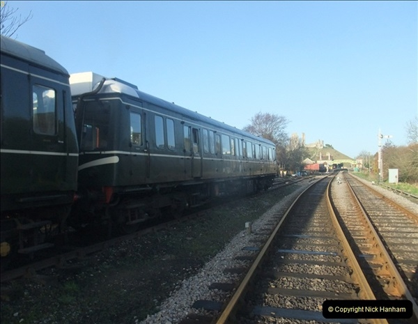 2012-01-07 Driving the DMU shuttle service Corfe Castle to Norden (7)122
