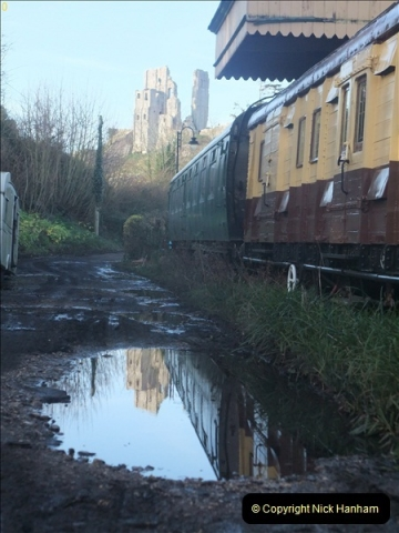 2012-01-07 Driving the DMU shuttle service Corfe Castle to Norden (94)209