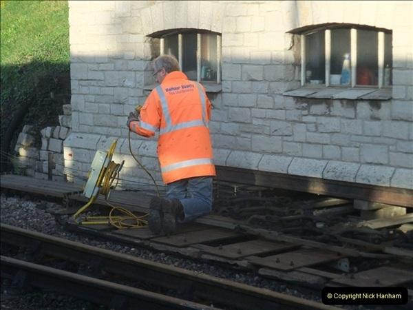 2012-01-10 SR Engineering work on the 08. (73)342