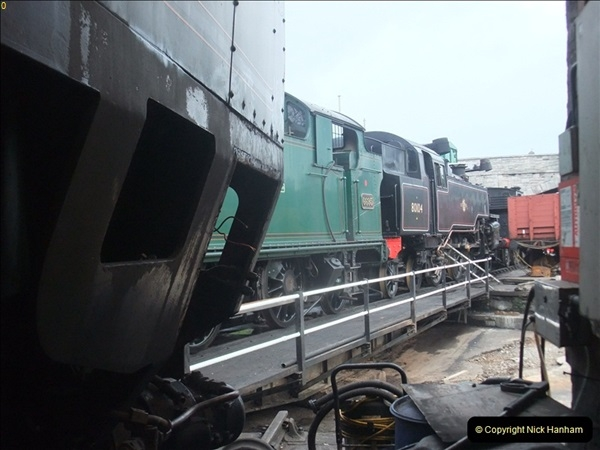 2012-01-10 SR Engineering work on the 08. (97)366