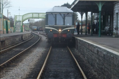 2012-01-07 Driving the DMU shuttle service Corfe Castle to Norden (140)255