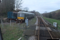 2012-01-07 Driving the DMU shuttle service Corfe Castle to Norden (151)266