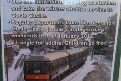 2012-01-07 Driving the DMU shuttle service Corfe Castle to Norden (3)118