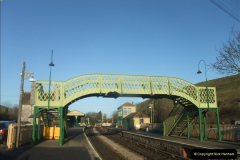2012-01-07 Driving the DMU shuttle service Corfe Castle to Norden (4)119