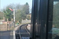 2012-01-07 Driving the DMU shuttle service Corfe Castle to Norden (43)158