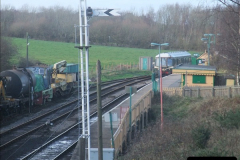 2012-01-07 Driving the DMU shuttle service Corfe Castle to Norden (69)184