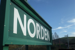 2012-01-07 Driving the DMU shuttle service Corfe Castle to Norden (71)186