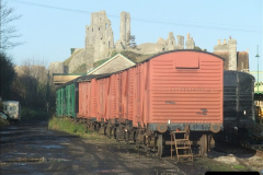 2012-01-07 Driving the DMU shuttle service Corfe Castle to Norden (80)195