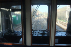 2012-01-07 Driving the DMU shuttle service Corfe Castle to Norden (8)123
