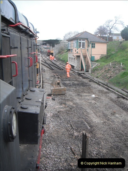 2012-01-30 SR Engineering Work on the 08.  (82)0288