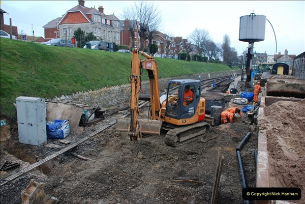 2012-01-31 SR Engineering Work on the 08.  (163)0452
