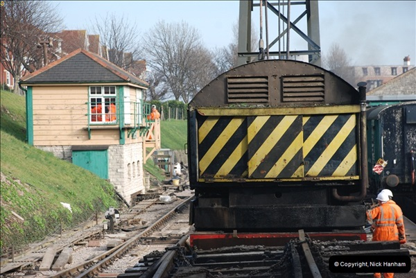 2012-02-07 SR Engineering Work on the 08 (172)0659
