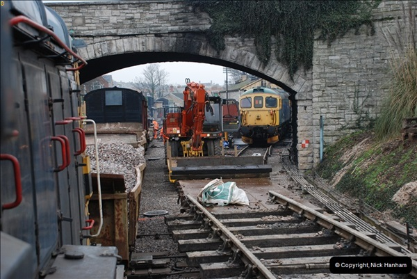 2012-02-07 SR Engineering Work on the 08 (87)0574