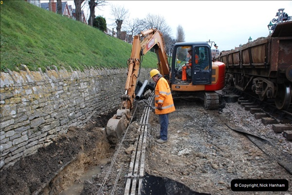 2012-02-08 SR Engineering Work on the 08 (21)0741
